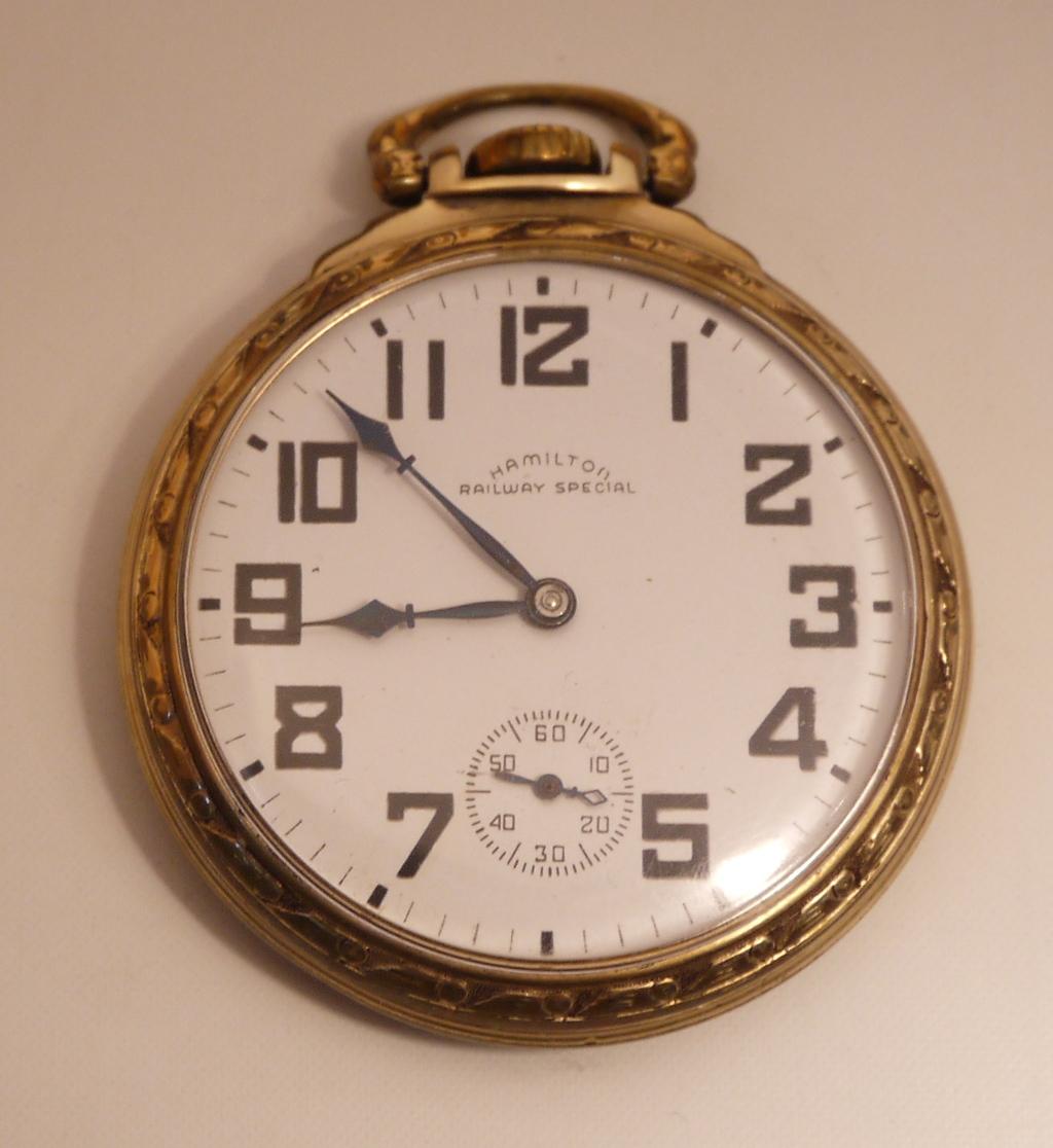 cc7d4cc4c Hamilton 992B Railroad Pocket Watch, Hamilton Railway Special
